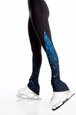 L127 Sparkle Blue Tights
