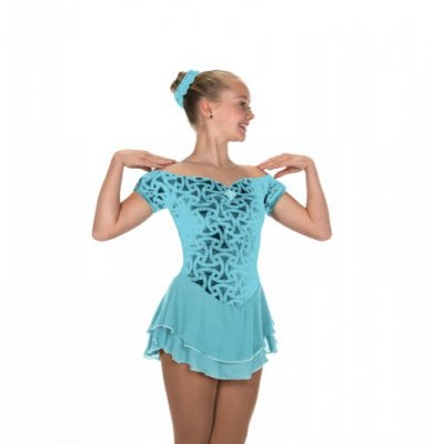 213 Gemology Dress – Aqua