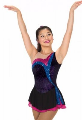 246 Stream of Sequins Dress