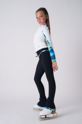 Black Loop tights Wild Blue