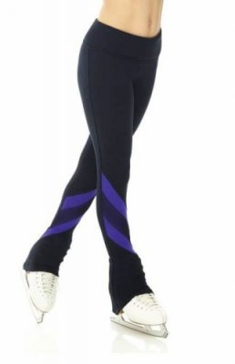 4460 Accentcolor Polartec tights - Violet