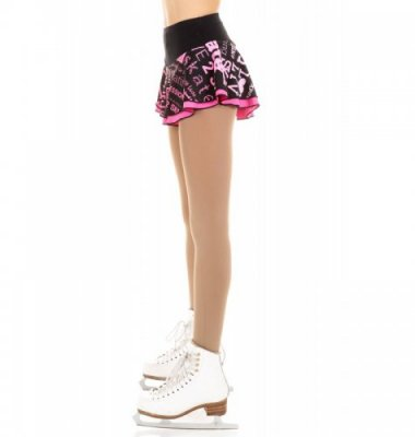 1601 SK8 Double layered skirt Rosa